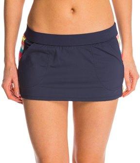 Anne Cole Women's Running Stripe Pocket Swim Skirt 8137402