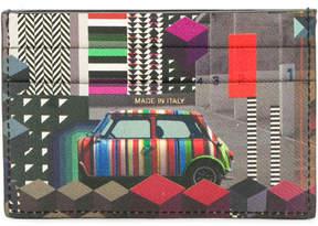 Paul Smith Geometric Mini print credit card holder