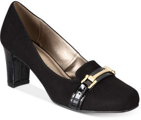 Karen Scott Penzey Block Heel Pumps, Created for Macy's Women's Shoes