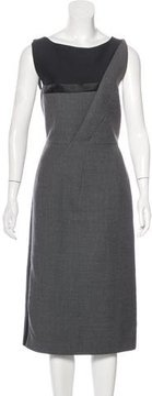 Christian Dior Paneled Sheath Dress