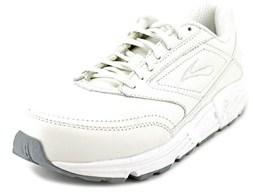 Brooks Addiction Walker Round Toe Leather Walking Shoe.