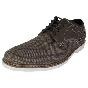 Steve Madden Mens P-Lain Woven Lace Up Oxford Shoes