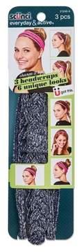 Scunci Multi-wear headwrap 3pc