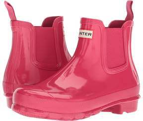 Hunter Chelsea Boots Gloss Women's Rain Boots
