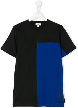 DKNY colourblock T-shirt