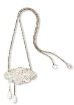Forest of Chintz Silver lining Pendant Necklace