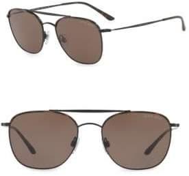 Giorgio Armani 54MM Aviator Sunglasses
