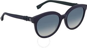 Fendi Blue Gradient Ladies Sunglasses FF 0268/S PJP/08