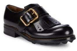 Prada Classic Leather Oxfords