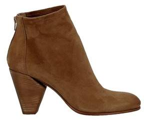 Elena Iachi Women's Brown Suede Ankle Boots.