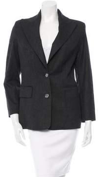 Celine Wool Button-Up Blazer