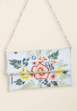 Urban Expressions Inc. Creative Indication Embroidered Clutch
