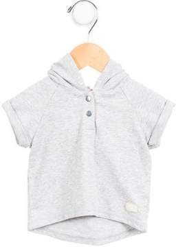 7 For All Mankind Boys' Hooded Mélange Sweatshirt