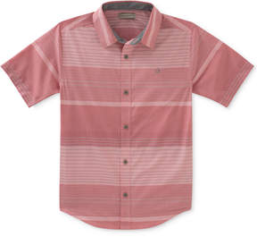 Calvin Klein Horizontal Striped Shirt, Big Boys (8-20)