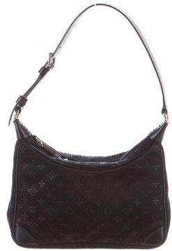 Louis Vuitton Satin Mini Boulogne Bag - BLACK - STYLE