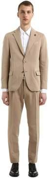Lardini Linen & Cotton Unlined Suit