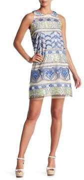ECI Embroidered Shift Dress
