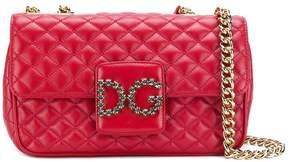 Dolce & Gabbana front logo shoulder bag