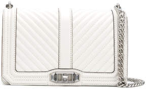 Rebecca Minkoff Chevron shoulder bag - WHITE - STYLE