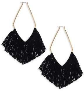 Ettika Fringe Drop Earrings