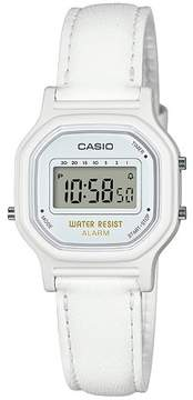 Casio Women's LA11WL-7A Digital Watch - White
