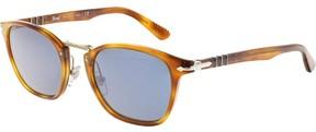 Persol Havana PO3110S-96/56-51 Brown Clubmaster Sunglasses