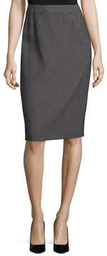 Escada Ravas Pixie-Print Pencil Skirt