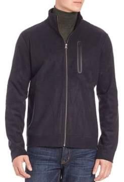 Saks Fifth Avenue Bomber Front Zip Jacket