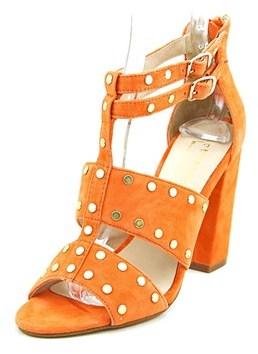 Nicole Miller Jagger Women Open Toe Suede Sandals.
