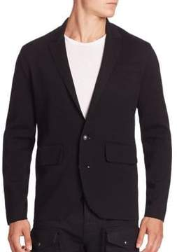 Ralph Lauren Single-Breasted Wool Blazer
