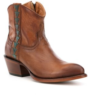 Lucchese Chloe Leather Booties