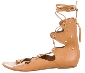 IRO Studded Lace-Up Sandals
