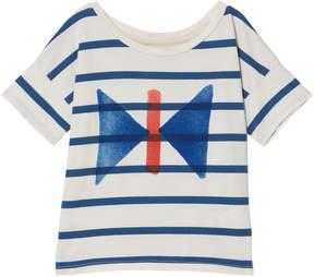 Bobo Choses Buttercream Butterfly Short Sleeve T-Shirt