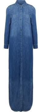 Equipment Brett Denim Maxi Shirt Dress