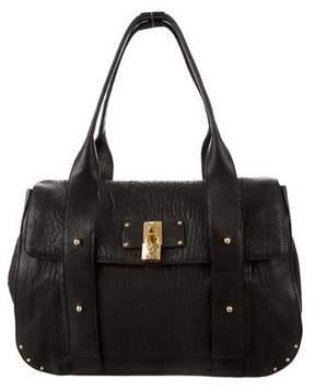 Marc Jacobs Textured Leather Shoulder Bag - BLACK - STYLE
