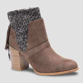 Muk Luks Women's Elizabeth Fashion Boots - Brown
