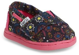 Toms Infant Girl's Bimini Print Slip-On