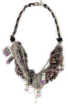 Dannijo Geode Raya Collar Necklace