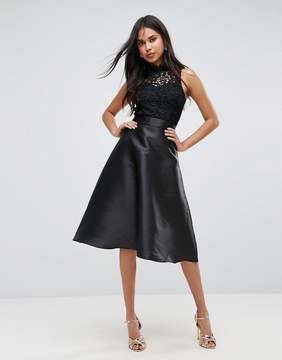 AX Paris Prom Dress With Lace Upper