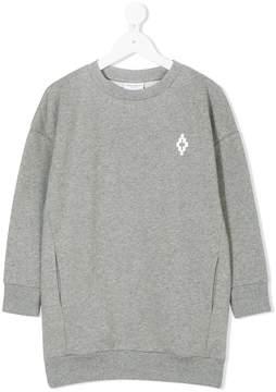 Marcelo Burlon County of Milan Kids long-line sweatshirt