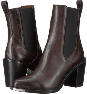 Belstaff Aviland Calf Leather Ankle Boots Women's Boots