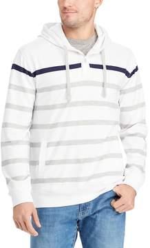 Chaps Big & Tall Classic-Fit Striped Hoodie