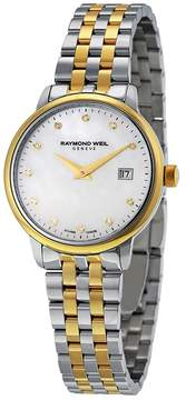 Raymond Weil Toccata White Mother of Pearl Dial Ladies Watch