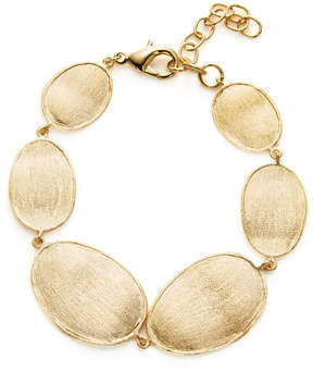 Rivka Friedman Women's Satin Wavy Oval Station Bracelet