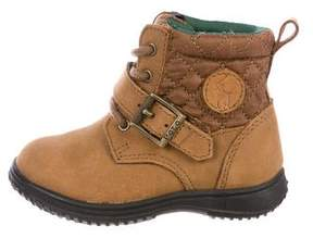 Polo Ralph Lauren Boys' Suede High-Top Booties