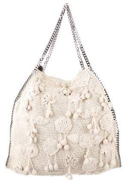 Stella McCartney Large Falabella Crochet Tote