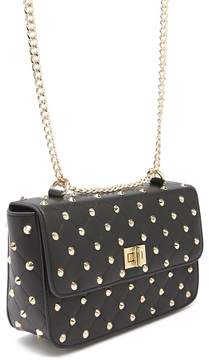 Forever 21 Spiked Faux Leather Crossbody