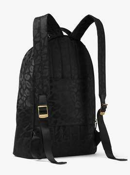 MICHAEL Michael Kors Kelsey Large Leopard Nylon Backpack