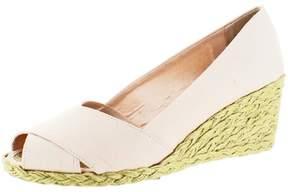 Polo Ralph Lauren Lauren Ralph Lauren Cecilia Women's Peep-Toe Espadrille Wedge Sandals