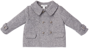 Marie Chantal Baby Boy Herringbone Baby Boy Coat